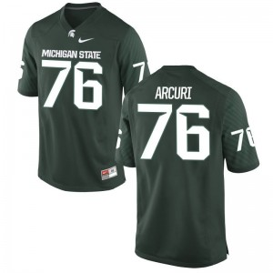 Michigan State University AJ Arcuri Limited Jersey Green For Men