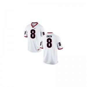 Georgia Bulldogs A.J. Green Jerseys Youth X Large White For Kids Limited