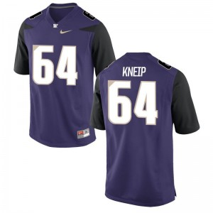 A.J. Kneip For Men Jerseys 3XL Limited Purple University of Washington