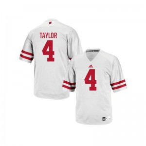 UW A.J. Taylor Jersey NCAA For Men Authentic White Jersey