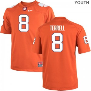 A.J. Terrell Clemson National Championship Jerseys Youth X Large Limited Youth - Orange