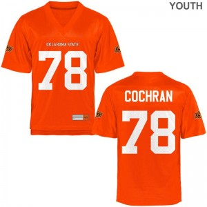 Youth(Kids) Aaron Cochran Jerseys XL Oklahoma State Cowboys Limited Orange