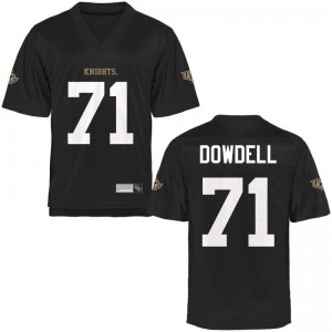 Aaron Dowdell For Kids Jerseys Youth Small UCF Limited - Black