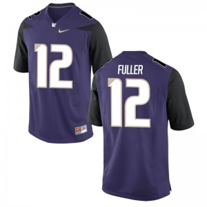 Limited UW Aaron Fuller Mens Jersey 2XL - Purple