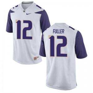 Aaron Fuller University of Washington Jerseys Small Limited Mens Jerseys Small - White
