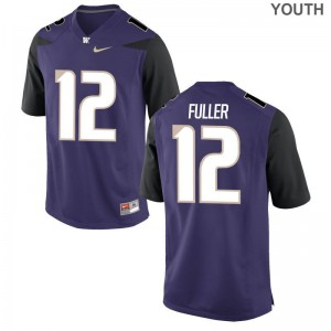 Washington Aaron Fuller Jersey Medium Youth(Kids) Limited - Purple