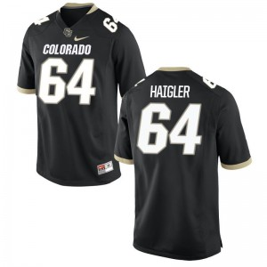 Colorado Aaron Haigler Jersey S-3XL Mens Limited Jersey S-3XL - Black