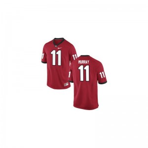 Aaron Murray Men Red Jersey University of Georgia Limited