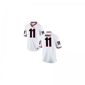 Aaron Murray Georgia Bulldogs Jerseys Medium White Men Limited