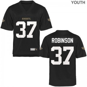 University of Central Florida Aaron Robinson Jerseys Youth Large Limited Youth - Black