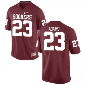 Abdul Adams Jersey OU Men Limited - Crimson