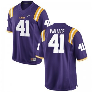 Tigers Limited Mens Abraham Wallace Jersey Large - Purple