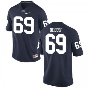 Kids Limited Nittany Lions Jerseys XL of Adam De Boef - Navy