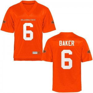 Adrian Baker OK State Jersey Mens Small Orange For Men Limited