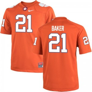 CFP Champs Adrian Baker Youth(Kids) Limited High School Jersey Orange