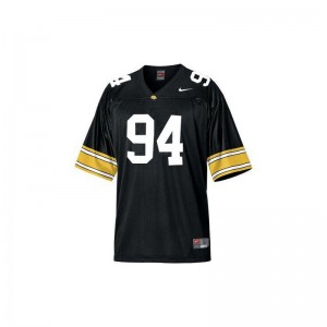 Iowa Jerseys Youth Large of Adrian Clayborn Limited Youth - Black