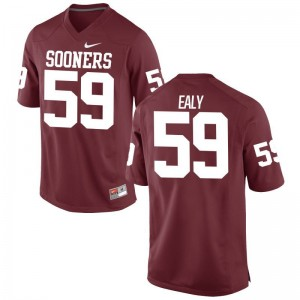 Adrian Ealy Mens Jerseys Limited Oklahoma Sooners - Crimson