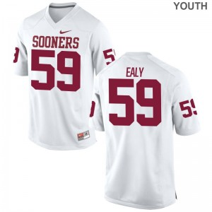 Adrian Ealy Jerseys OU White Limited Youth High School Jerseys