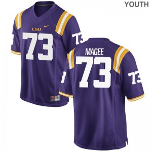Adrian Magee Tigers Youth Jerseys Purple Player Limited Jerseys