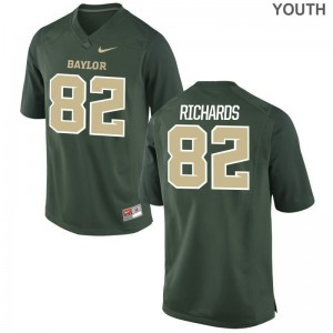 Ahmmon Richards University of Miami Jerseys Youth XL For Kids Limited Green