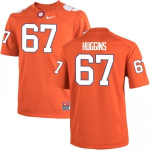 Men Limited Clemson National Championship Jersey Albert Huggins - Orange