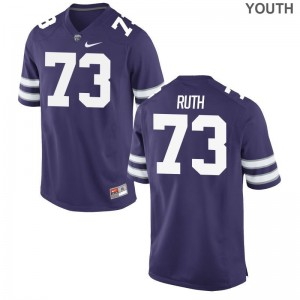 K-State Alec Ruth For Kids Limited Jerseys Purple