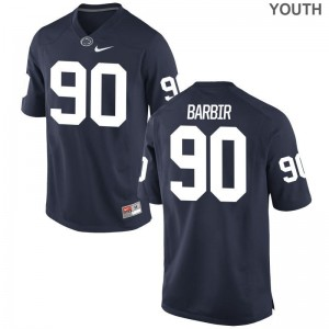 Limited Youth(Kids) Penn State Jersey Youth Large of Alex Barbir - Navy