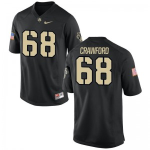 Alex Crawford USMA Jersey Men Limited Black College