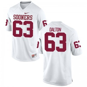 Oklahoma Jerseys Mens XXL of Alex Dalton Limited For Men - White