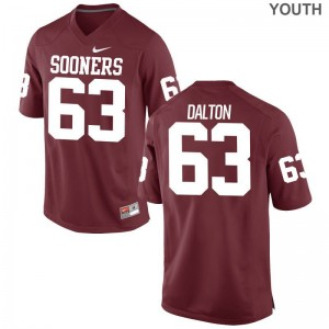 Alex Dalton Jerseys Large Youth Oklahoma Crimson Limited