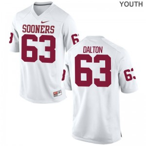 OU Sooners Jersey Youth Large Alex Dalton Kids Limited - White