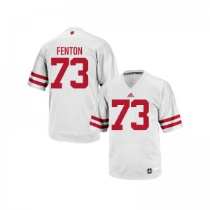 Wisconsin Badgers Alex Fenton Jerseys Men XXXL For Men Authentic White