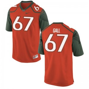 Alex Gall Jersey Large For Kids Miami Limited Orange