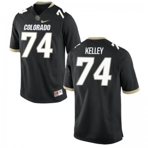 Limited Black Alex Kelley Jersey Large Men University of Colorado