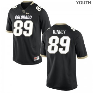 Alex Kinney UC Colorado Jersey S-XL For Kids Black Limited