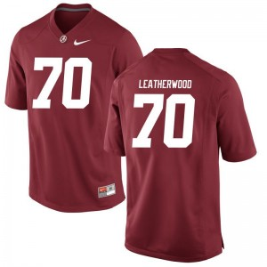 Alex Leatherwood Jerseys Alabama Crimson Tide Red Limited Men Jerseys