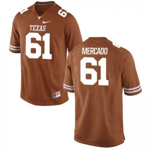 Alex Mercado UT Jerseys X Large For Men Limited Orange