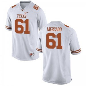Alex Mercado Longhorns Jersey Men XL Limited For Men Jersey Men XL - White