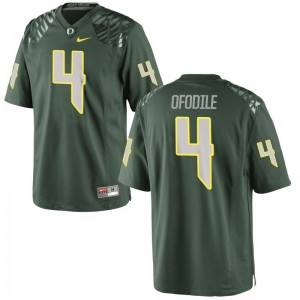 Limited Youth Ducks Jersey Youth XL Alex Ofodile - Green