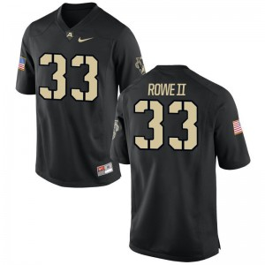 Army Alex Rowe II Jerseys Mens Medium Black Limited For Men