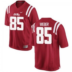Mens Alex Weber Jerseys Mens XXXL Rebels Limited Red