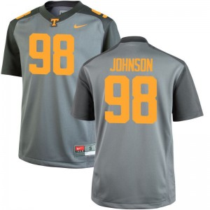 Tennessee Volunteers Alexis Johnson Jersey Men Large Limited Gray Men