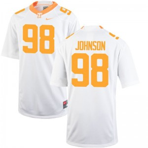 Alexis Johnson Tennessee Jersey For Men White Limited