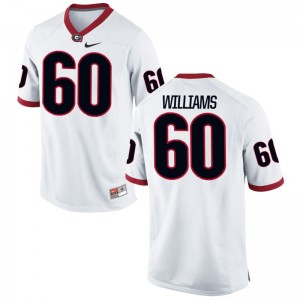 UGA Bulldogs Limited White Men Allen Williams Jersey