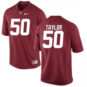 Bama Alphonse Taylor Jerseys Youth X Large Youth Limited - Red