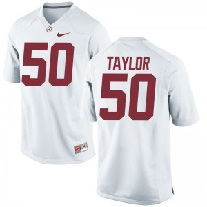 Alphonse Taylor Alabama Crimson Tide Jerseys Youth Small Limited Kids White