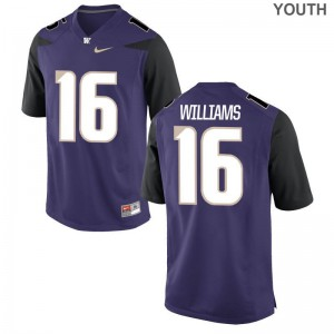Washington Kids Limited Amandre Williams Jerseys Youth XL - Purple
