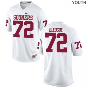 Oklahoma Sooners Amani Bledsoe Limited Kids Jersey Youth Large - White