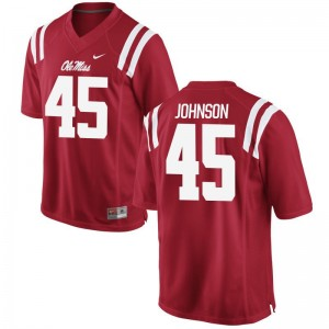 Ole Miss Amani Johnson Jerseys Mens Large Mens Limited Red