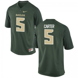 Hurricanes Amari Carter Jerseys Limited Green For Men